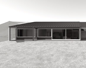 Threepwood Passive House - in progress